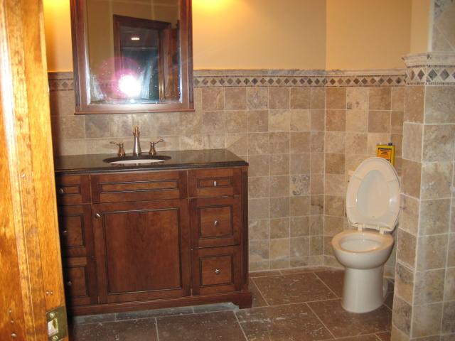 The Basic Bathroom Co. - remodeled bathroom - August 2011