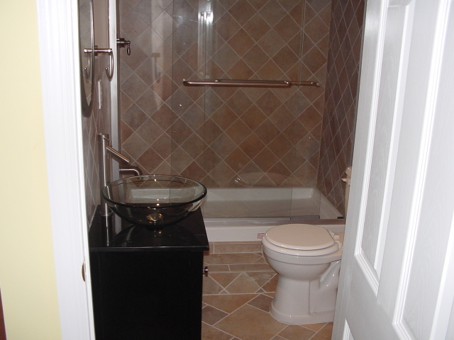 The Basic Bathroom Co. - remodeled full bathroom - NJ - June 2010