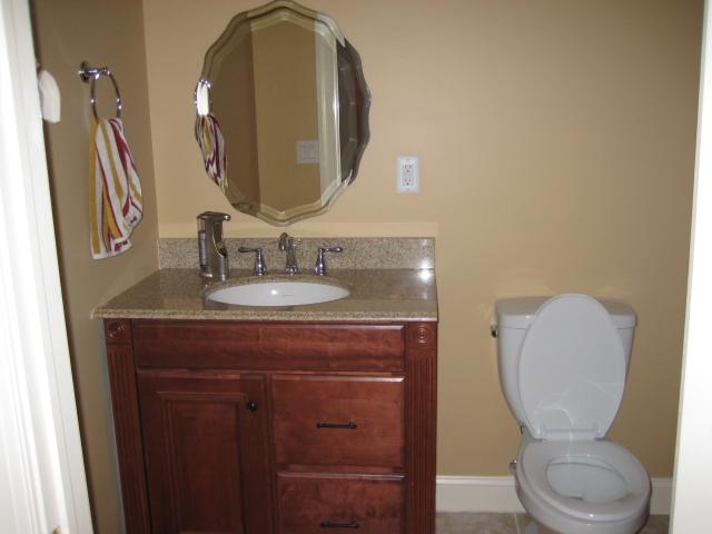 The Basic Bathroom Co. - remodeled half bathroom - NJ - January 2012