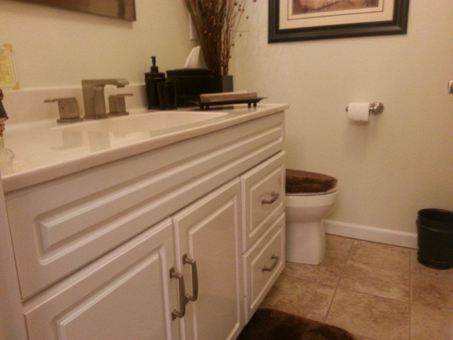 The Basic Bathroom Co. - remodeled full bathroom - NJ - November 2012