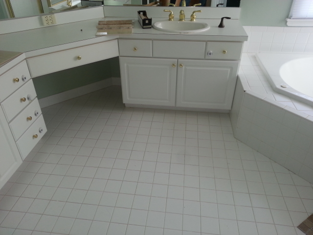 The Basic Bathroom Co. - remodeled full bathroom - before - NJ - December 2012