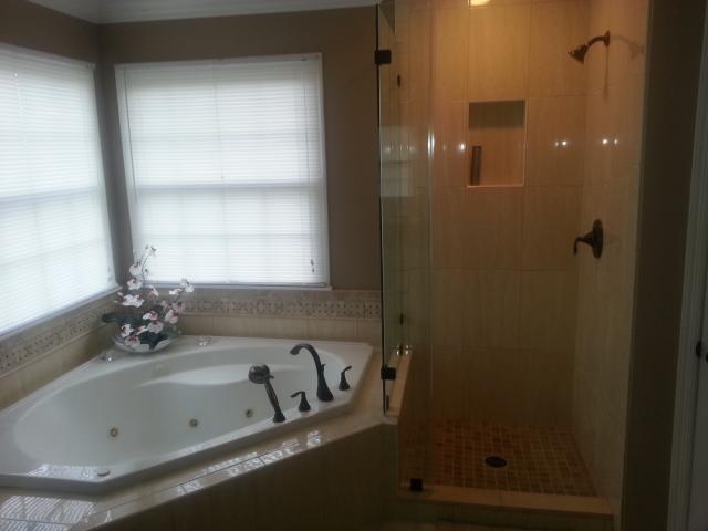 The Basic Bathroom Co. - remodeled full bathroom - complete - NJ - January 2013
