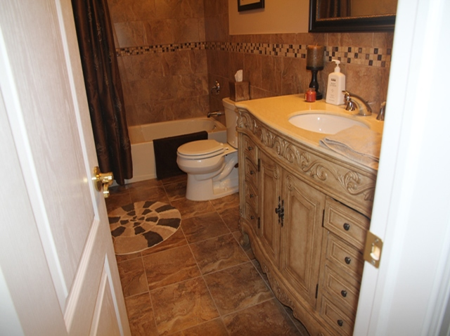 The Basic Bathroom Co. - remodeled full bathroom with bathtub-shower - complete - NJ - July 2013