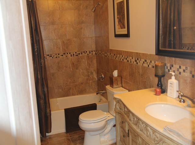 The Basic Bathroom Co. - remodeled full bathroom with bathtub-shower - complete - NJ - July 2013