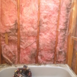 The Basic Bathroom Co. - remodeled full bathroom with bathtub-shower combination - in progress - October 2013