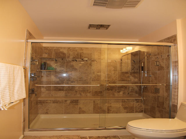 The Basic Bathroom Co.   Remodeled Full Bathroom With Shower Enclosure    Complete   January