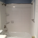 The Basic Bathroom Co. - remodeled full bathroom with bathtub-shower combination - complete - January 2014