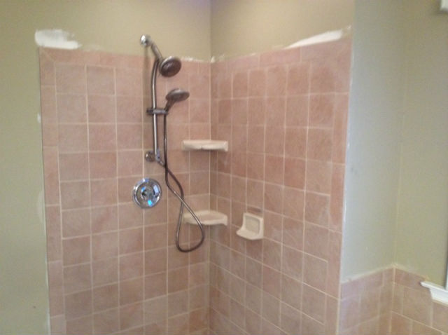 The Basic Bathroom Co.   Remodeled Full Bathroom With Soaking Tub And  Shower Enclosure