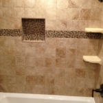 The Basic Bathroom Co. - remodeled full bathroom with bathtub-shower combination - complete - March 2014