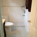 The Basic Bathroom Co. - remodeled full bathroom with bathtub-shower combination - complete - June 2014