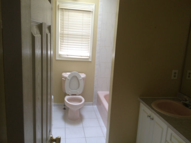 The Basic Bathroom Co.   Remodeled Full Bathroom With Bathtub Shower  Combination   Before
