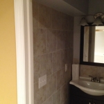 The Basic Bathroom Co. - remodeled full bathroom with shower enclosure - complete - June 2014