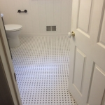 The Basic Bathroom Co. - remodeled full bathroom with bathtub-shower combination - complete - August 2014