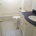 The Basic Bathroom Co. - remodeled full bathroom with bathtub-shower combination - complete - September 2014