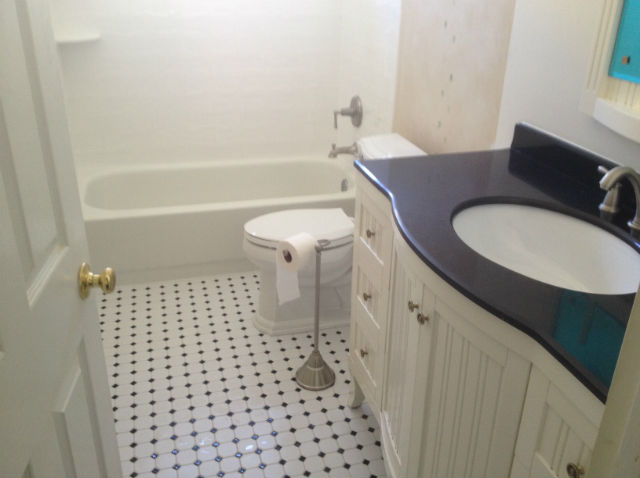 Nice The Basic Bathroom Co.   Remodeled Full Bathroom With Bathtub Shower  Combination   Complete