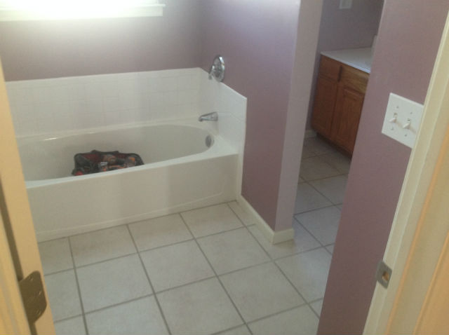 The Basic Bathroom Co.   Remodeled Full Bathroom With Bathtub And Shower    Before