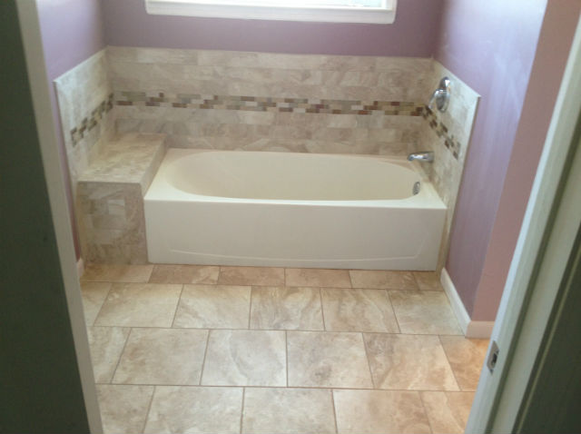 The Basic Bathroom Co.   Remodeled Full Bathroom With Bathtub And Shower    Complete