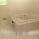 The Basic Bathroom Co. - remodeled full bathroom with shower - before - October 2014