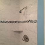 The Basic Bathroom Co. - remodeled full bathroom with shower - complete - November 2014