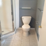 The Basic Bathroom Co. - remodeled full bathroom with shower - complete - Edison, NJ - February 2015