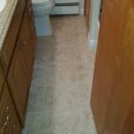 The Basic Bathroom Co. - remodeled full bathroom with bathtub-shower - complete - Trenton, NJ - April 2015