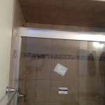 The Basic Bathroom Co. - remodeled full bathroom with shower - complete - Somerville, NJ - April 2015