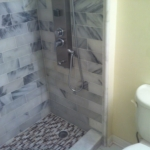The Basic Bathroom Co. - remodeled full bathroom with shower - complete - Princeton, NJ - August 2015