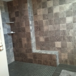 The Basic Bathroom Co. - remodeled full bathroom with custom shower - complete - Bridgewater, NJ - October 2016