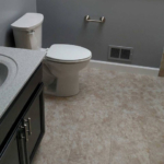 The Basic Bathroom Co. - remodeled full bathroom with shower-bathtub combination - complete - Milltown, NJ - April 2017